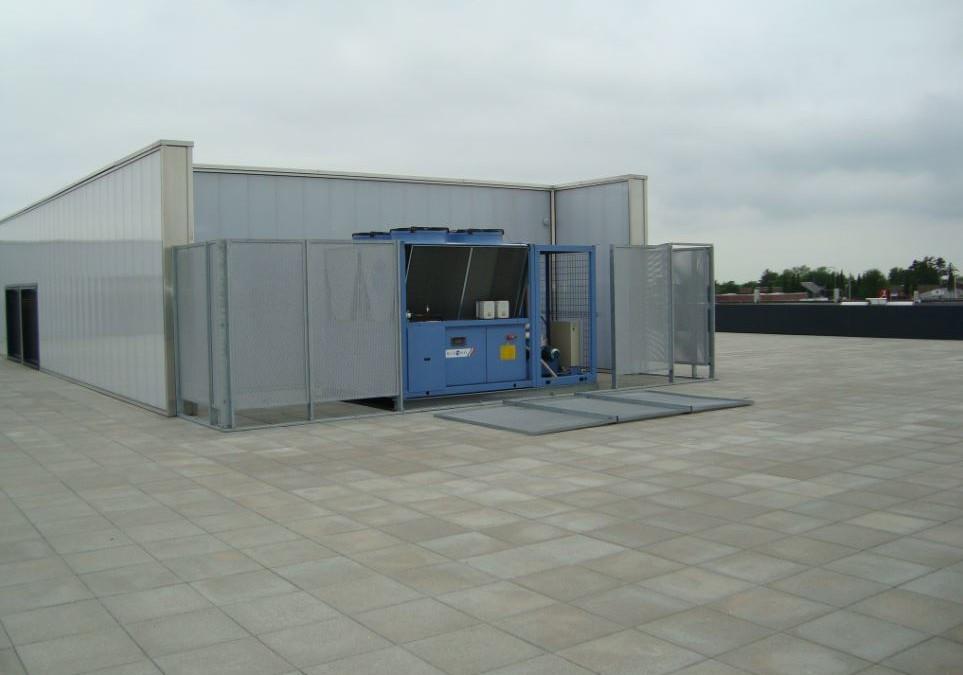 Vandkøleanlæg 300kW luftkonditionering