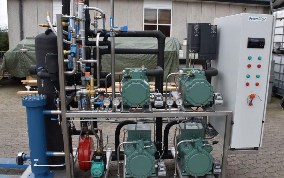 FutureCool CO2 køl og frostanlæg